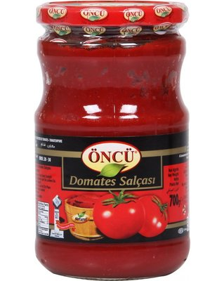 ONCU TOMATENPUREE POT 12X720 ML