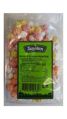 TAZEDEN SUIKER'S KIKKERERWTEN 15X250 GR