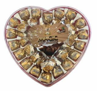 ELVAN HART CHOCOLADE MET HAZELNOOT 12X270 GR
