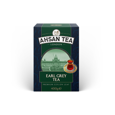 AHSAN EARL GREY THEE 20X400 GR