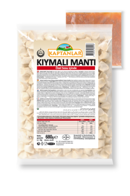 KAPTANLAR MANTI TURKSE RAVIOLI 14X600 GR