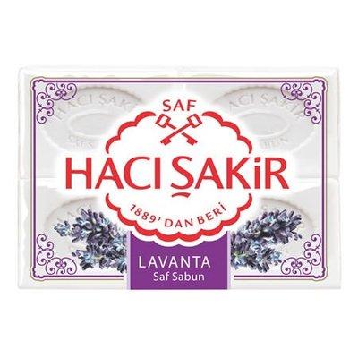HACI SAKIR ZEEP 4 STUKS LAVENTEL 15X600 GR