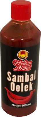 SULTAN AHMET SAMBAL OELEK 12X500 ML
