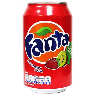 FANTA STRAWBERRY & KIWI 24X330 ML