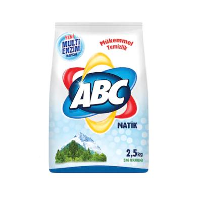 ABC WASPOEDER 6X2.5 KG