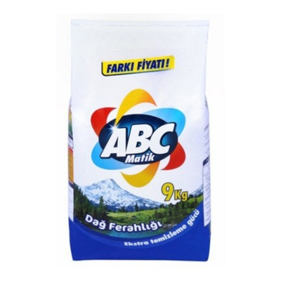 ABC WASPOEDER 2X9 KG