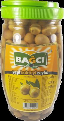 BAGCI GROENE OLIJVEN KOKTEYL 6X1.5 KG