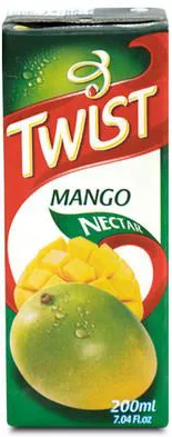 TWIST MANGO JUICE 12X1 LT