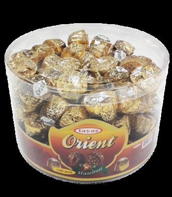 TAYAS ORIENT CHOCOLADE MET HAZELNOOT 12X500 GR
