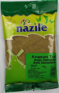 NAZILE ANIJS GEMALEN 15X70 GR