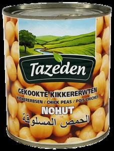 TAZEDEN GEKOOKTE KIKKERERWTEN 12X800 GR