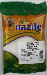 NAZILE CITROENZUUR 15X100 GR