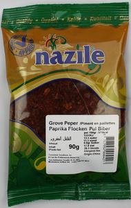 NAZILE GROVE PEPERVLOKKEN 15X90 GR