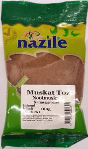 NAZILE GEMALEN NOOTMUSKAAT 15X80 GR